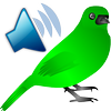 Icona Uccelli chiamate Suoni