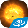 The Sun interactive educational VR 3D icon