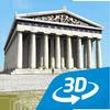 Acrópole 3D educacional interativo RV ícone