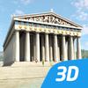 Acropolis interactive educational VR 3D ikon