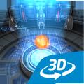 世界を変えた物理学者達インタラクティブな教育用3D