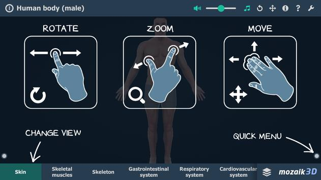 Human body (male) screenshot 5