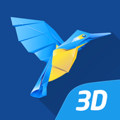 mozaik3D-app: 3D-scènes, quizzen en games-icoon