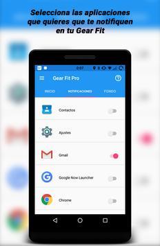 Gear Fit Pro Lite captura de pantalla 1