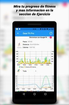 Gear Fit Pro Lite captura de pantalla 3