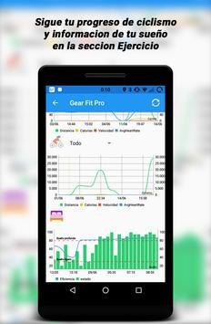 Gear Fit Pro Lite captura de pantalla 4
