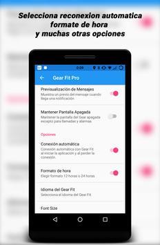 Gear Fit Pro Lite captura de pantalla 6
