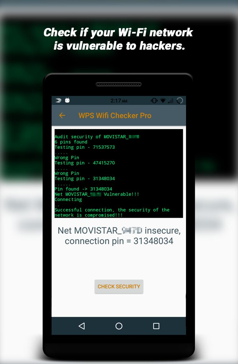 WPS Wifi Checker Pro for Android - APK Download