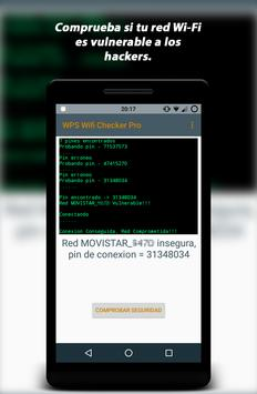WPS Wifi Checker Pro captura de pantalla 1