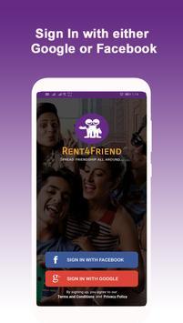 Rent4Friend: Spread Friendship All Around poster