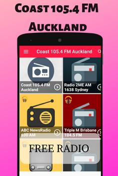 Coast 105.4 FM Auckland NZL Radio Station Live HD スクリーンショット 1