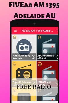 FIVEaa AM 1395 Adelaide AU Free Radio Station Live screenshot 8