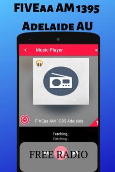 FIVEaa AM 1395 Adelaide AU Free Radio Station Live poster