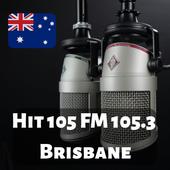 Hit 105 FM 105.3 Brisbane Free Internet Radio Live icon
