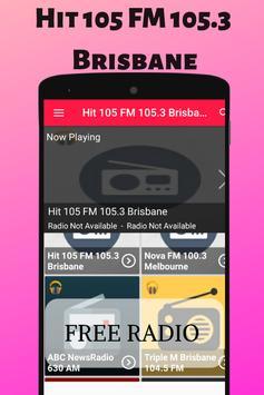 Hit 105 FM 105.3 Brisbane Free Internet Radio Live screenshot 2