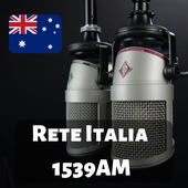 Rete Italia 1539AM Melbourne Radio Station Live HD أيقونة