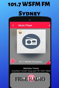 101.7 WSFM FM Sydney Free Internet Radio Live HD screenshot 3
