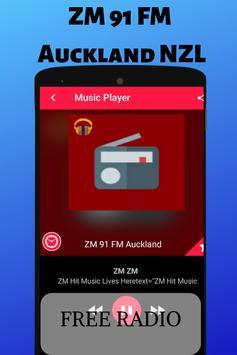 ZM 91 FM Auckland NZL Radio Station Listen Live HD