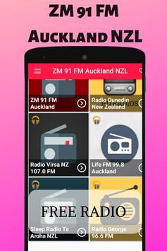 ZM 91 FM Auckland NZL Radio Station Listen Live HD 2