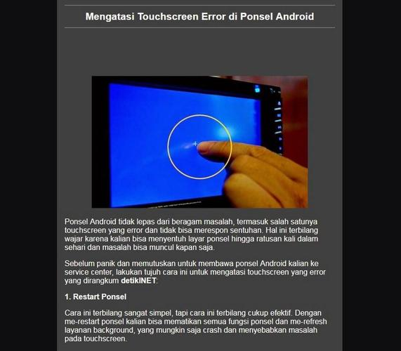 Resolve The Touchscreen Error For Android Apk Download