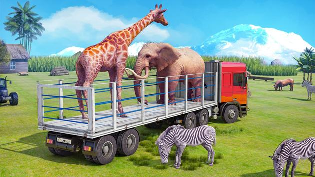 Rescue Animal Transport - Wild Animals Simulator poster