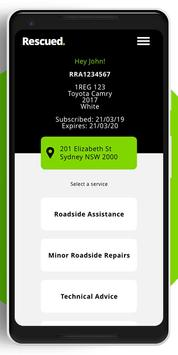 Rescued Roadside Assist screenshot 1