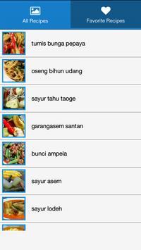 Resep Sayur & Tumis Pilihan poster