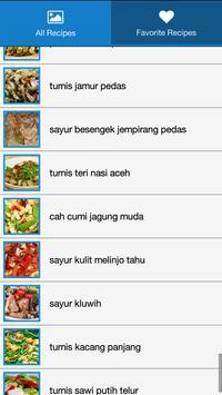 Resep Sayur & Tumis Pilihan screenshot 1