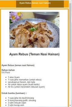 Resep ayam pilihan screenshot 3