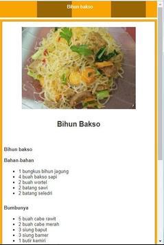 Resep Bakso Pilihan screenshot 1