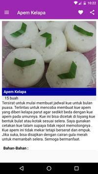 Resep Kue Apem screenshot 12