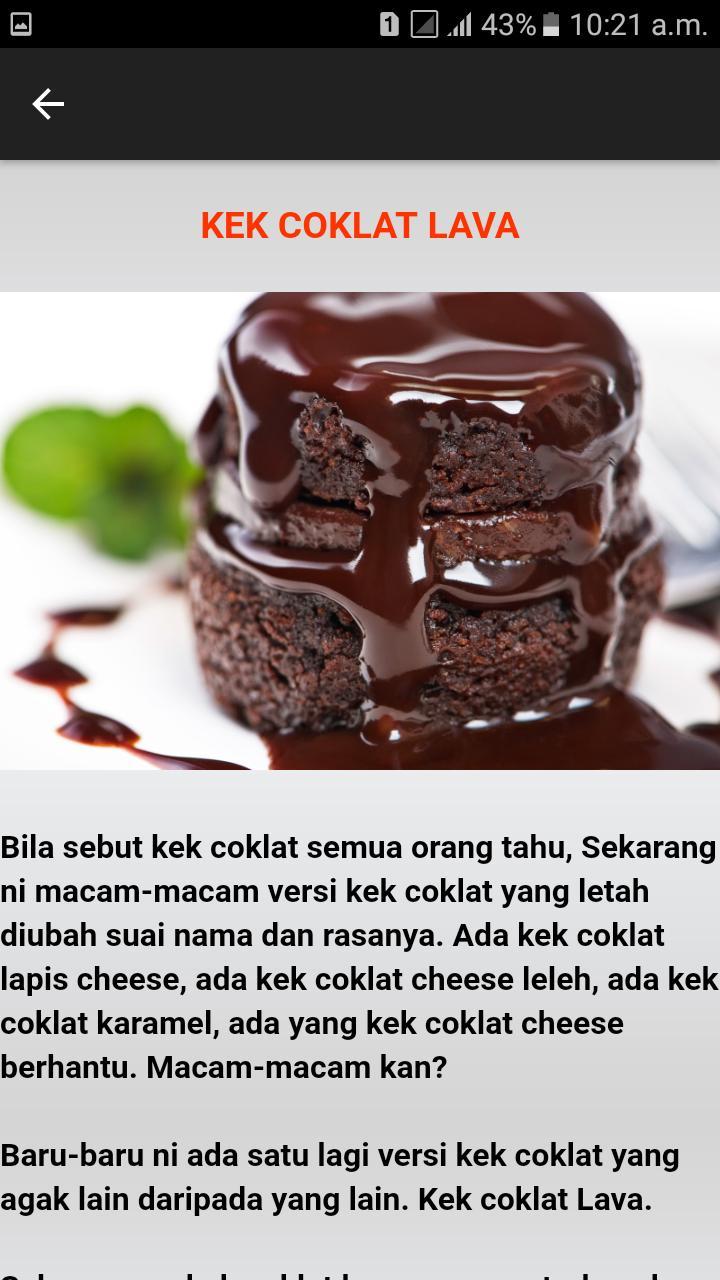 Resepi Kek Sedap For Android Apk Download