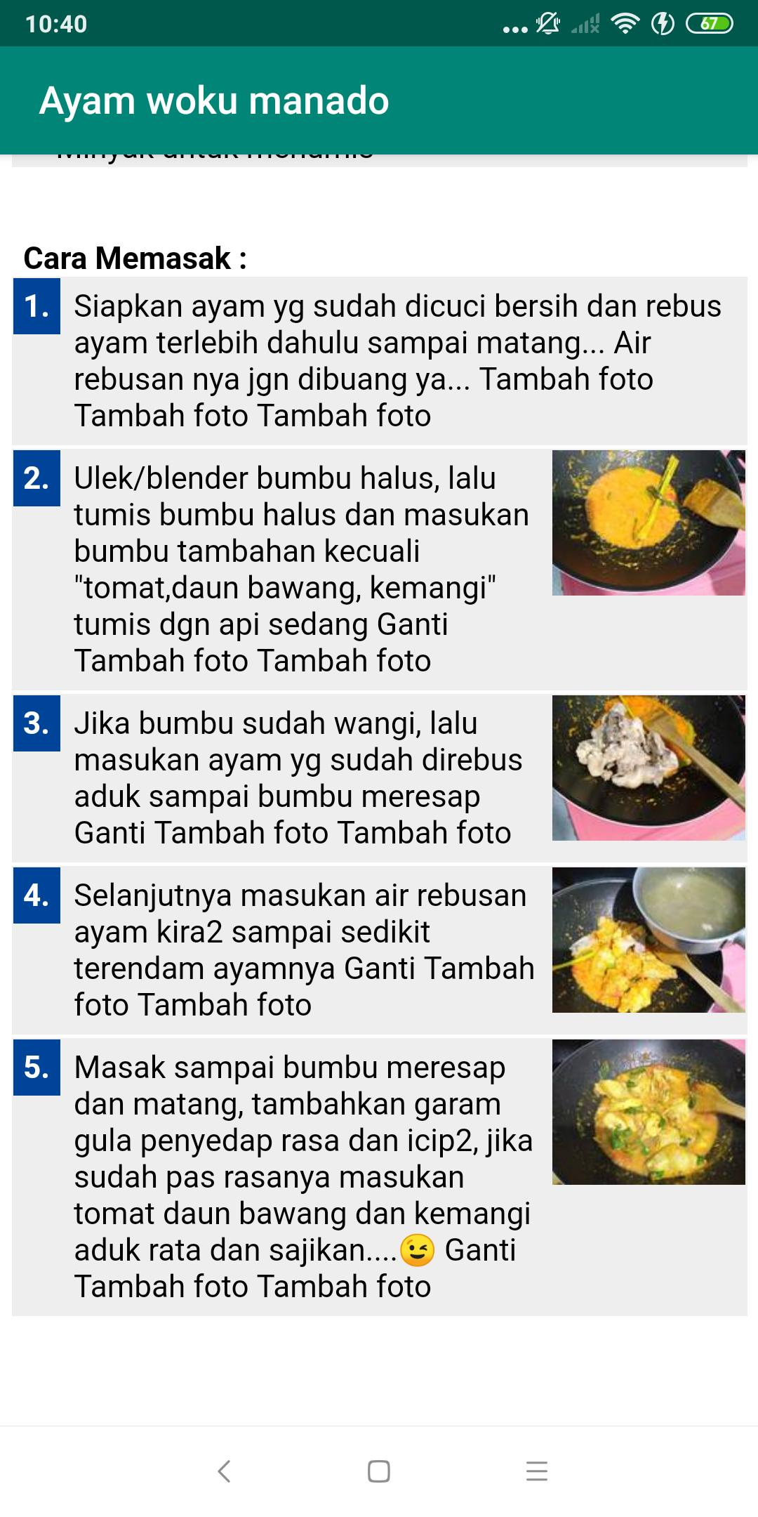 Resep Masakan Sulawesi For Android Apk Download