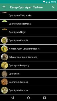 Resep Opor Ayam Khas Indonesia screenshot 1