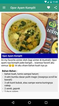 Resep Opor Ayam Khas Indonesia screenshot 7
