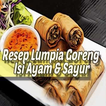 Resep Lumpia Goreng Isi Ayam & Sayur Teman Disore poster