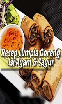 Resep Lumpia Goreng Isi Ayam & Sayur Teman Disore screenshot 1