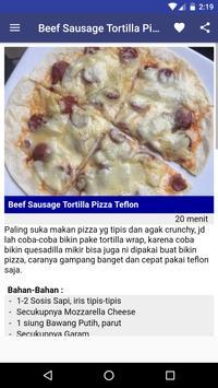 Aneka Resep Pizza screenshot 3