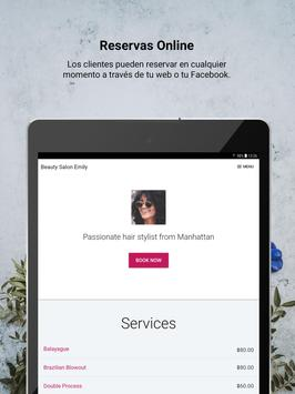 Reservio - Sistema de cita previa online captura de pantalla 7
