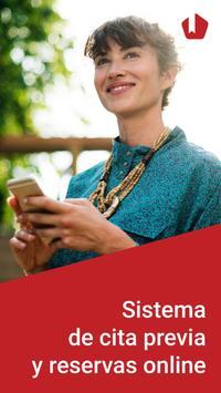 Reservio - Sistema de cita previa online Poster