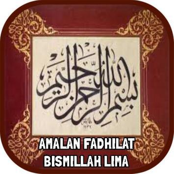 Amalan Fadhilat Bismillah Lima poster