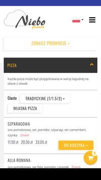 Pizzeria Niebo poster