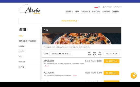 Pizzeria Niebo screenshot 2