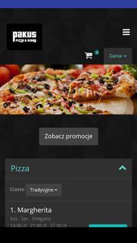 Pakus Pizza&Kebab poster
