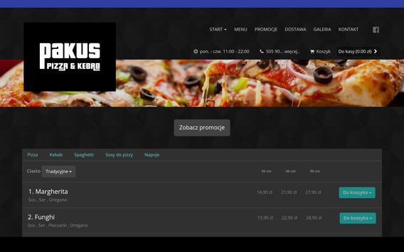 Pakus Pizza&Kebab screenshot 2