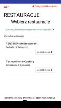 Tentego cafe&restaurant poster