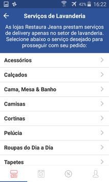 Restaura Jeans Delivery screenshot 2