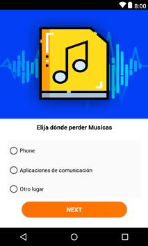 recuperar musicas borradas screenshot 2