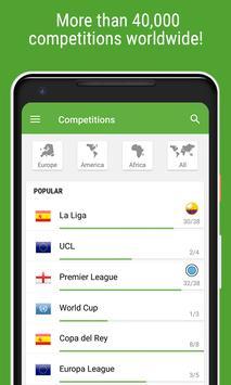 Resultados de Fútbol captura de pantalla 4