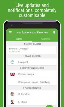 Resultados de Fútbol captura de pantalla 6